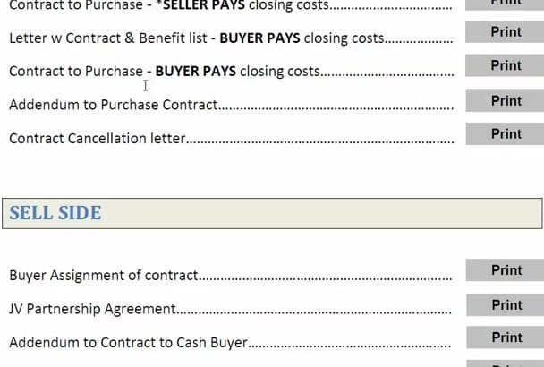 send AutoFilling Real Estate Investing Wholesalers Contracts