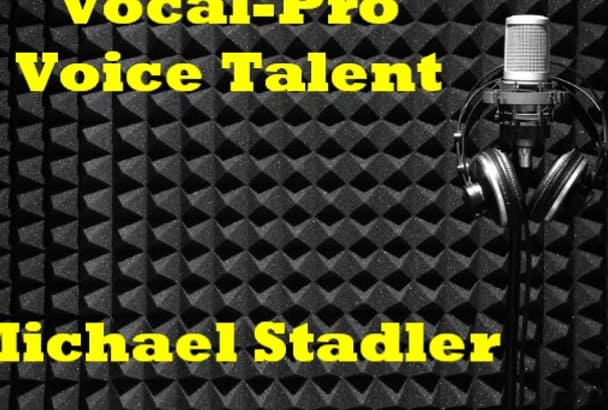 voice 100 words your commercial, video, or presentation TODAY