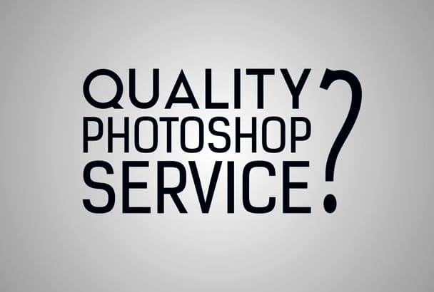 do QUALITY Photoshop Editing