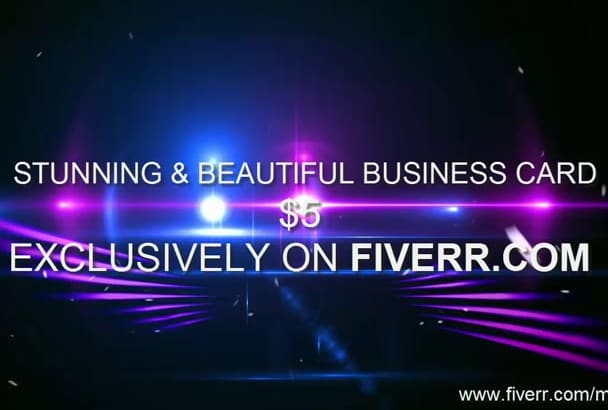 design 5 stunning and beautiful business card