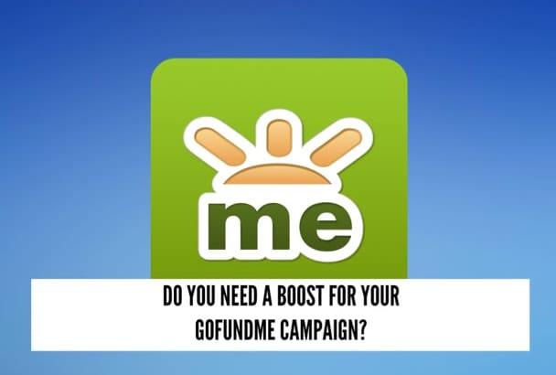 super promote and expose ur GOFUNDME