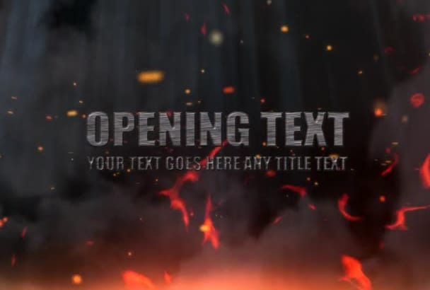 do explosive 3d intro