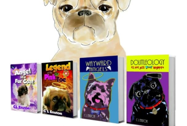 promote your book with a talking cartoon dog