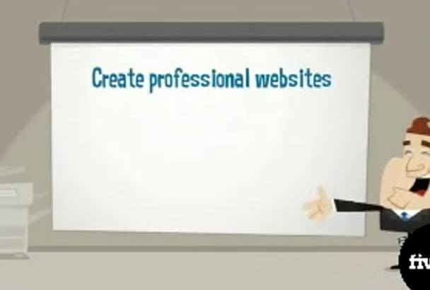 create professional website as your wish