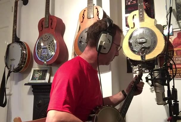 record a great banjo track for your song