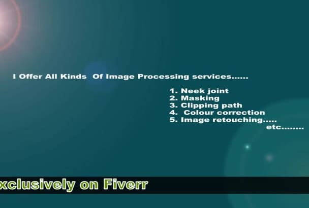 do clipping path or background remove 20 image