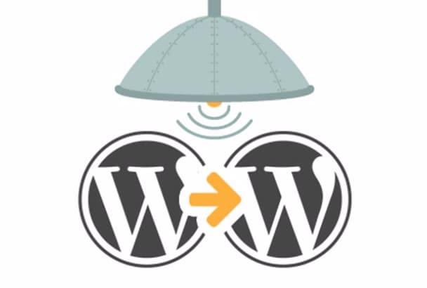 create or clone any WordPress site