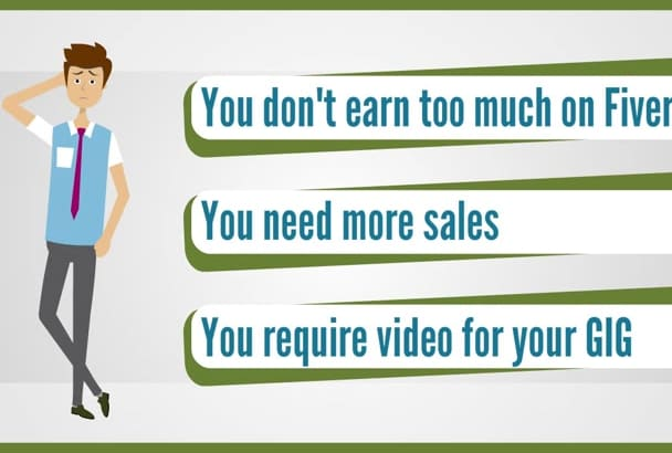 perfect Animated Explainer VIDEO for FiveRR Video