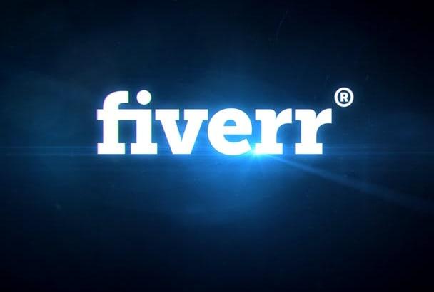 make Amazing futuristic logo Video Intro