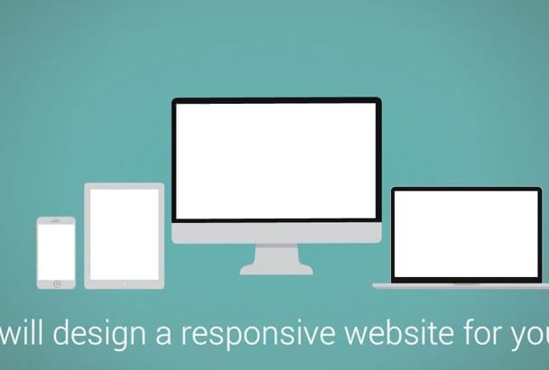 design your Website or Blog