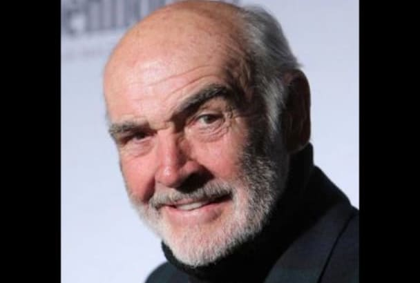 record an audio message as Sean Connery