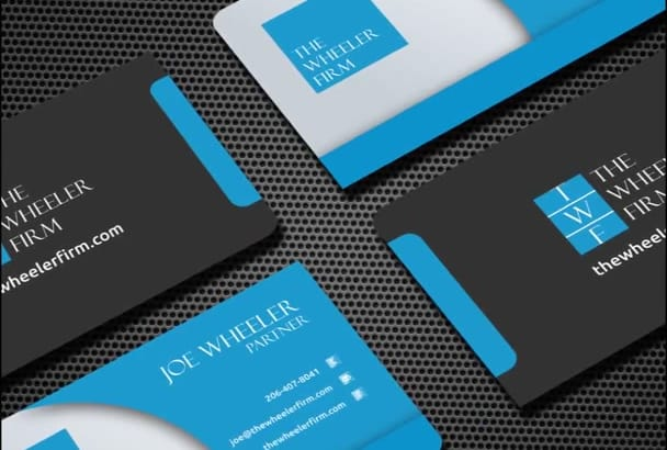 design OUTSTANDING business card with unlimited revisions