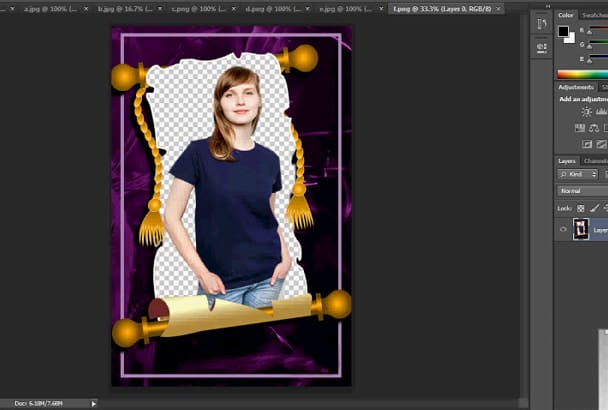 do Photo Editing,Retouching, Backgrounds Removing in 24hrs