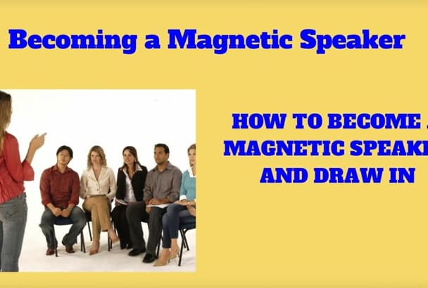 explain how to become a Magnetic Speaker