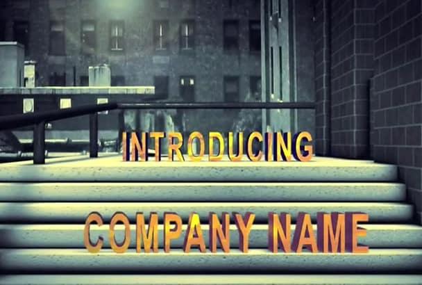 make an URBAN City Movie Intro with fx
