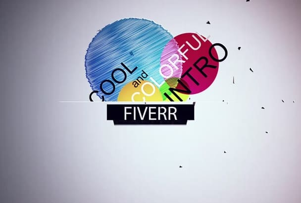 make this cool and colorful professional intro for you