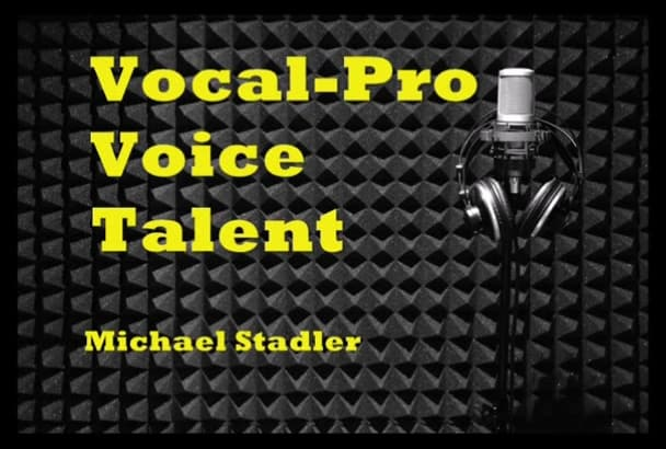 professionally voice your AUDIOBOOK