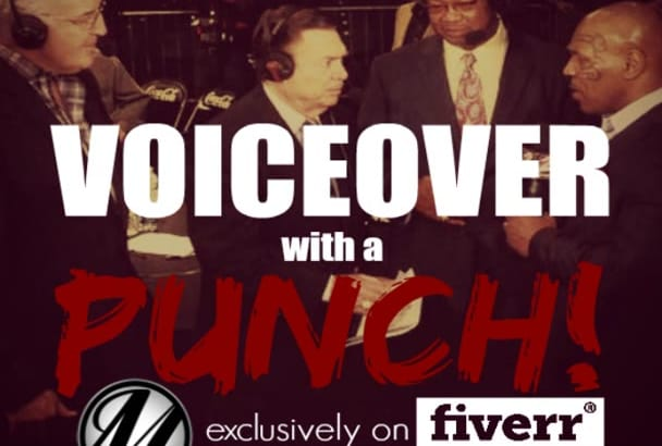produce a Voiceover with a PUNCH