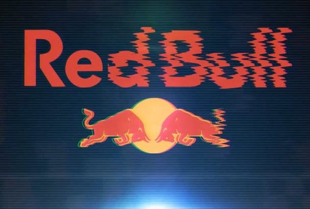 make your logo with an amazing glitchy animation intro V2 HD