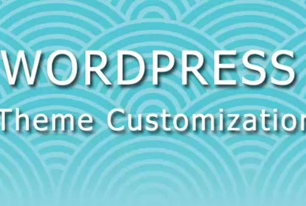 customize any wordpress theme as your need