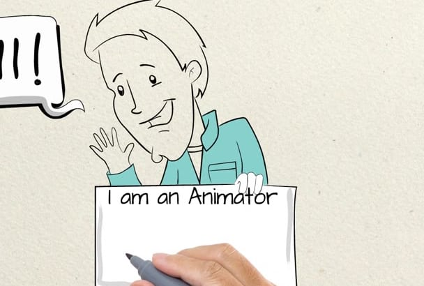 create high quality whiteboard animation video in 24 Hours