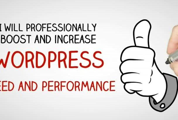 boost wordpress speed and performance