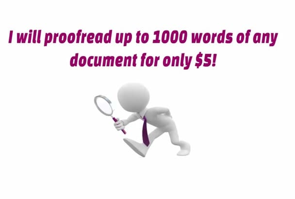 proofread any document in less than 16h