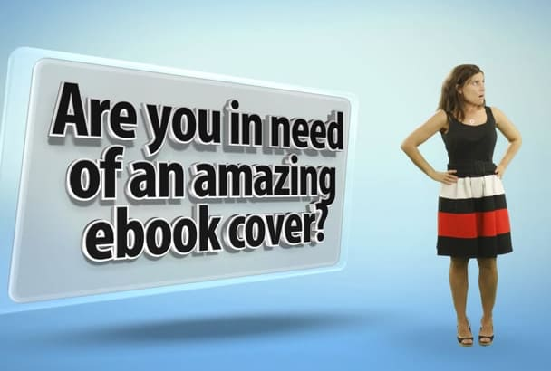 create AWESOME ebook cover design within 48 hours