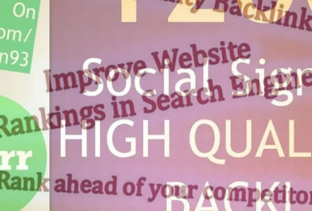 do 1200 Social Signals From Pr9 Pr10 Sites For Your URL