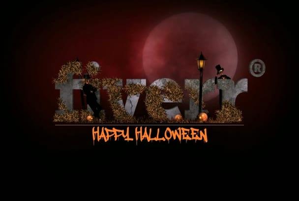 do a Halloween Bumper short Intro