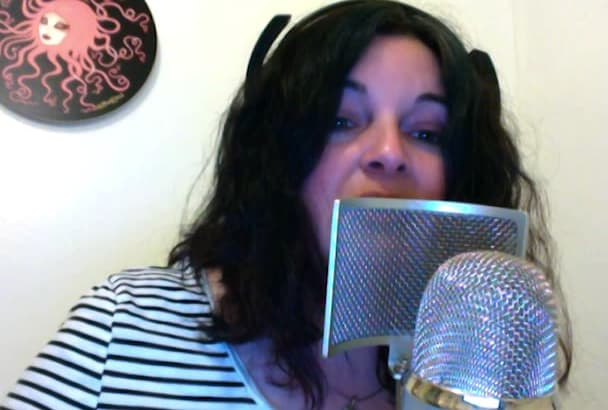 record an intimate North American female voiceover