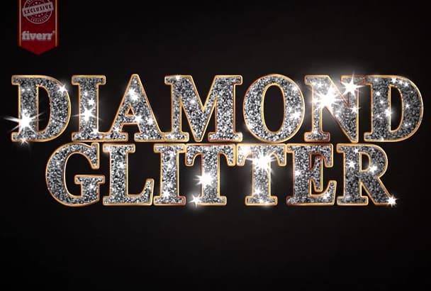 make a White Hot Diamond Logo Reveal 2016