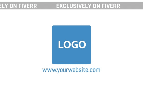create a modern and clean Logo Reveal for you
