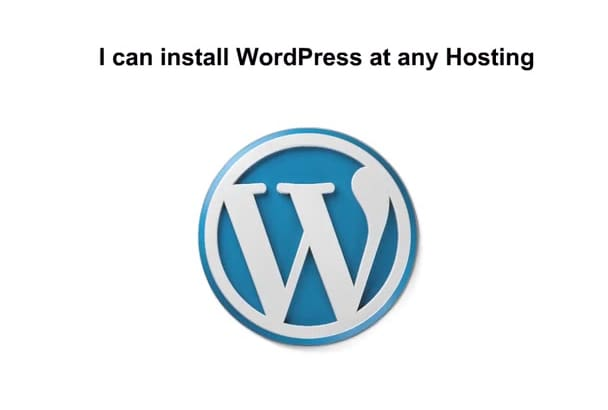 install WordPress at any Hosting