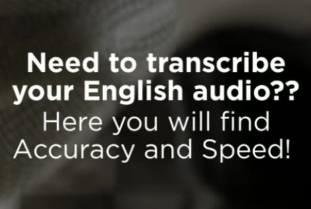transcribe your YouTube video or audio
