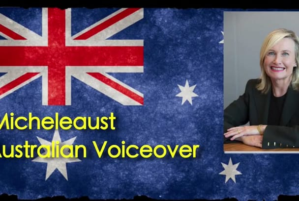 record an AWESOME Australian Female voiceover