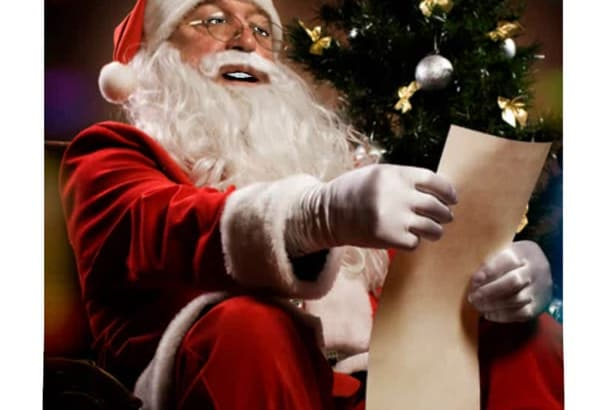 animate A Santa or other character for Xmas