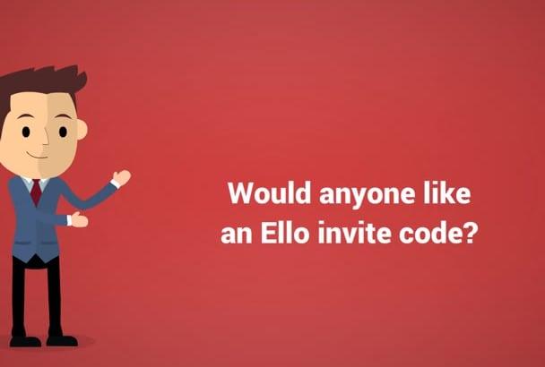 provide an Exclusive User Access on Ello