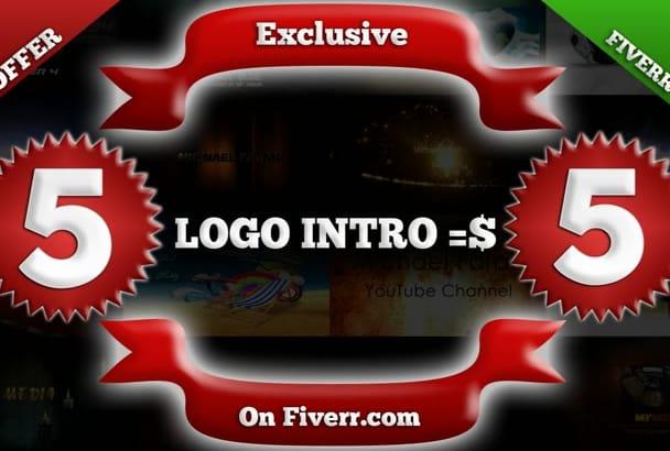create TOP 5 Most Popular logo Intro Videos