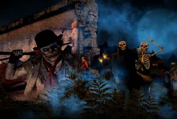 create Amazing Halloween Promo