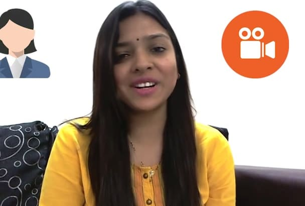 do video for anything in neutral Indian accent
