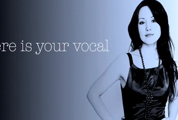 add vocal to your track today