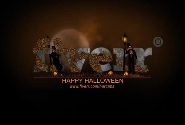 make 2 Halloween intro video less than 24 hour
