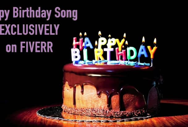 rap a professional personalized birthday song