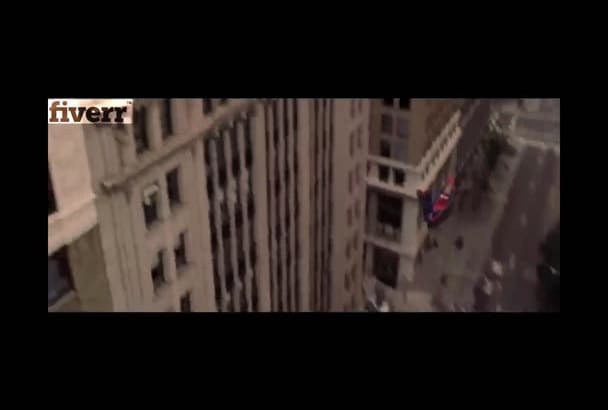 put your logo in this funny video with spider man