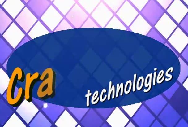 design top class creative logo design for your Business
