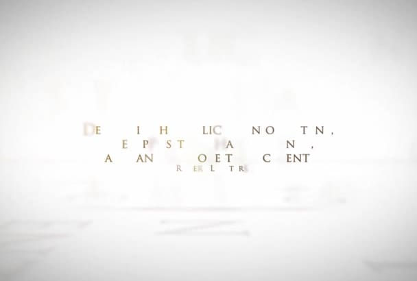 make typography quote video in HD