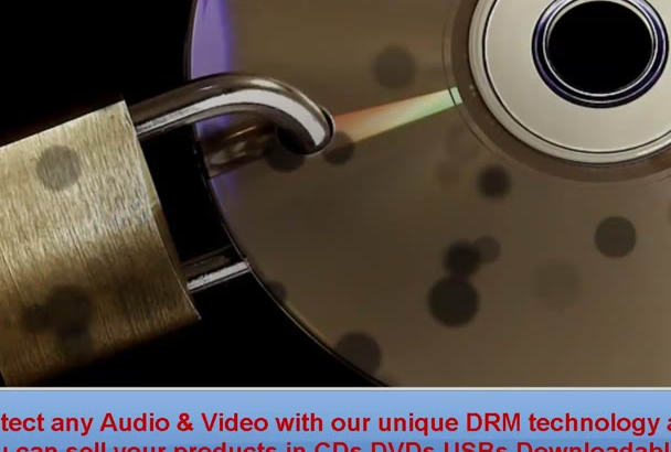 protect any Video and Audio With DRM Technology