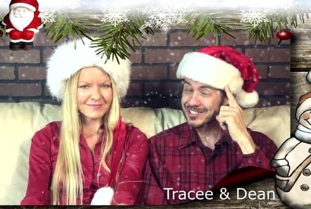 christmas Holiday or Xmas Video