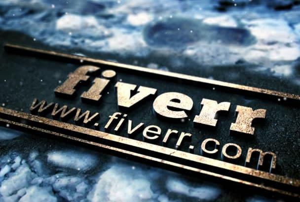 create This Amazing Winter Logo Intro